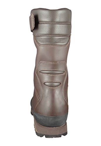 AKU caccia Calzature da caccia Stivali Jager High Top Brown 942-050 Brown Brown Marrone