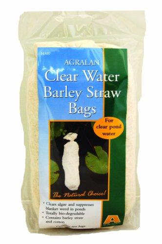 Agralan M97 Lot de 2 sacs de paille d'orge pour clarifier l'eau