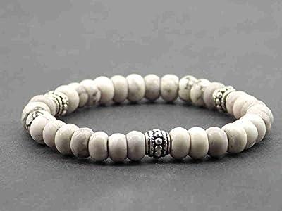 Bracelet Miss Chichi pour femmes en perles de Turquoise naturelle et perles tibétaines