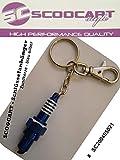 Reaction Schlüsselanhänger Zündkerze Spark in blau