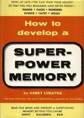 How to Develop a Super Power Memory (Super Power Memory)