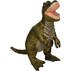 Lelly (44x 30cm NGS T-Rex de peluche (Verde)