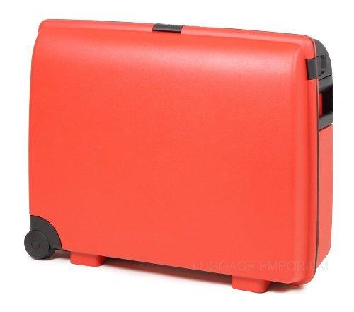 Carlton – Maleta rígida de polipropileno, de ruedas carlton airtec, 78 cm, color rojo