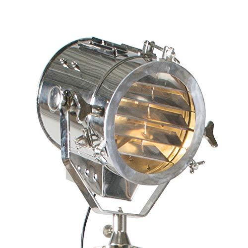 QAZQA Plafonnier spot vloerlamp Beam chroom/Luminaire/Lumiere/Éclairage/intérieur