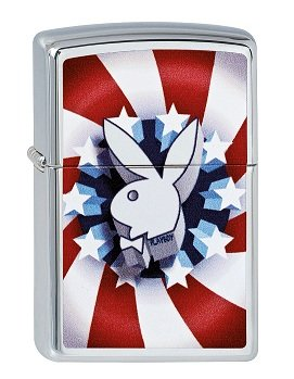 zippo-2003139-collection-2013-mechero-cromo-alto-brillo-diseo-de-conejo-playboy-color-rojo-blanco-y-