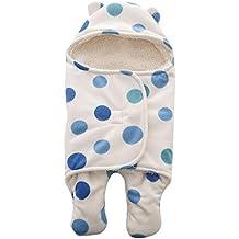 Miyanuby Saco de Dormir para Bebés, Suave y Cálido Franela de Invierno Saco de Dormir