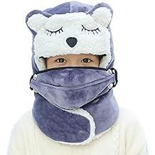 YJZQ - Gorro de Invierno para niños y niñas 6ddbd1e3726