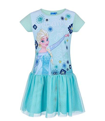 Disney Die Eiskönigin Elsa & Anna Mädchen Kleid - blau - 140