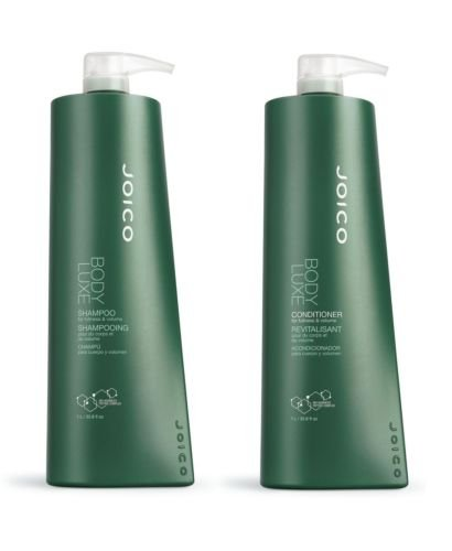 Joico Body Luxe Volumizing Shampoo 1000 ml & CONDITIONER 1000 ML Duo + Pumpen (Shampoo Body Joico)