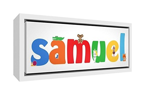 Little Helper Napperon avec Coaster Style Illustratif Coloré avec le Nom de Jeune Garçon Antonin