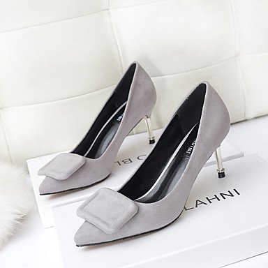Moda Donna Sandali Sexy donna tacchi tacchi caduta / Punta Casual Stiletto Heel altri nero / rosso / grigio altri gray