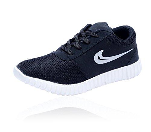 Shoes For Man\'s Men\'s Black Canvas Sneaker - 7