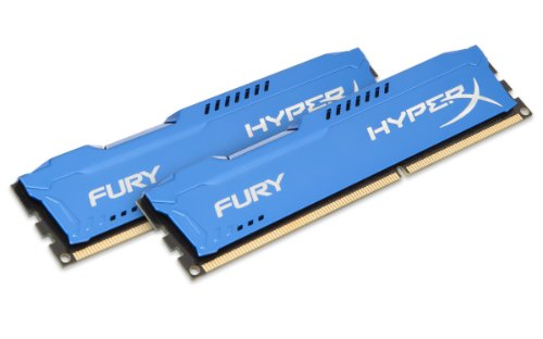 HyperX Fury HX313C9FK2/16 Arbeitsspeicher 16GB (1333MHz, CL9, 2x 8GB) DDR3-RAM Kit blau