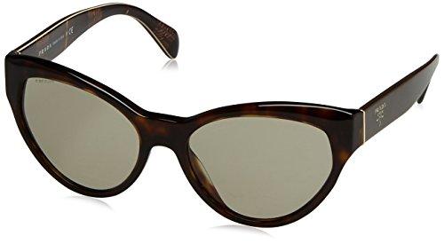 Prada Damen PR08SS Sonnenbrille, Braun (Havana 2AU5J2), One size (Herstellergröße: 55)