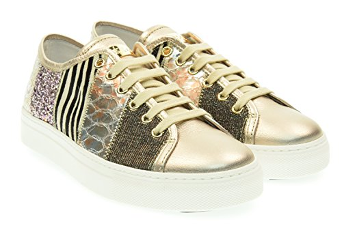 STOKTON donna sneakers basse 636-D-SS 39 Multi patch