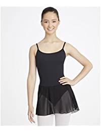 Danceconnexxion Ballet Dress with Attached Chiffon Skirt Mulberry and Adjustable Straps for Girls (6 – 7 Years (Intermediate)