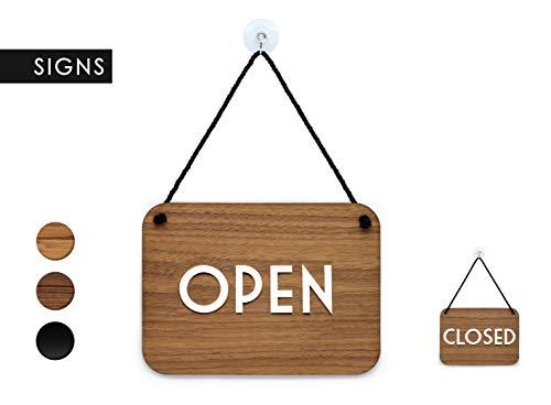 3DP Signs | Retrò Vintage - Open Closed - Cartel