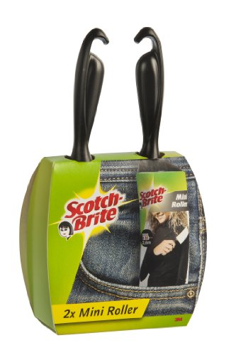 scotch-brite-836rmin2-mini-kleiderroller-travel-2-er-pack-je-30-blatt-26-m