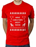 Make Christmas Great Again - Herren T-Shirt von KaterLikoli, Gr. M, Red