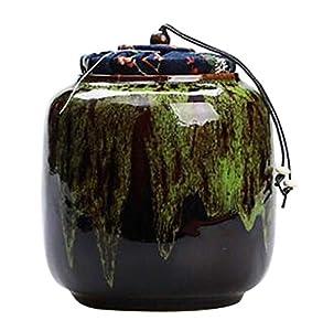 Black Temptation [A] Boîte à thé en céramique Boîtes à café Spice Jar Tea Caddy