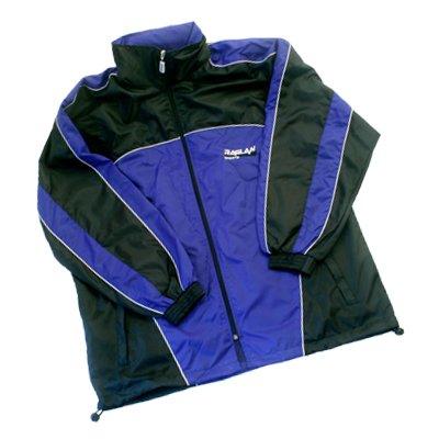 All4you-sportswear Veste de Pluie Bleu/Noir Taille L