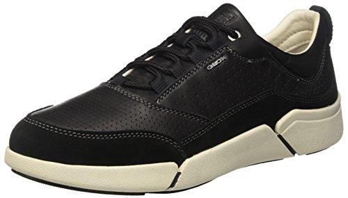 Geox U Ailand A, Sneakers Basses Homme Noir (Blackc9999)