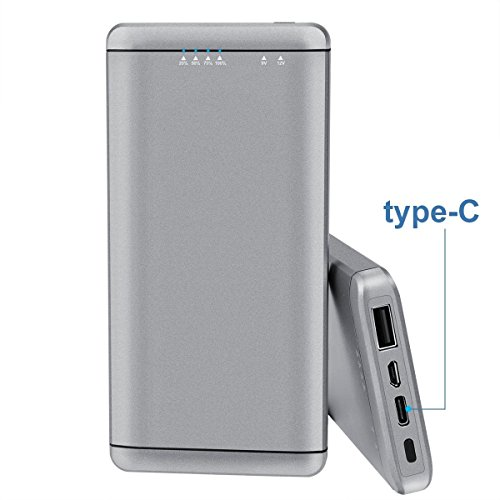 Wayona 10000mAh QC 2.0 and Type-C Quick Charging Power Bank / Fast Charger. (16.2W / 5V 9V 12V with Quick Charge Input and Output)