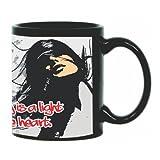 Printland Stay Light Black Coffee Mug 350 - ml best price on Amazon @ Rs. 299