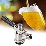 Regun Birra Tap, Pressione S Type dell'erogatore della Birra Birra Brewing Rubinetto con Scarico di Sicurezza valvola di casa Strumento Vino