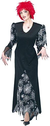 Kostüm Damen Leinwand von (Kostüm Halloween Sorciere)