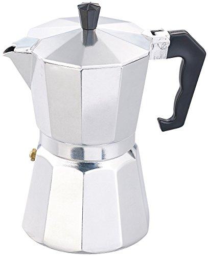 Cucina di Modena Espressokocher: Espresso-Kocher für 6 Tassen, für Gas, Elektro-Herd und Ceran-Feld (Kaffeebereiter)