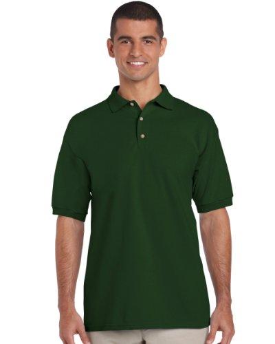 Individuell bedruckte Polo Shirt (Vorder-& Rückseite) ideal für Workwear, Uniform, Clubs personalisiert, kostenlose shipping- Rot - Rot