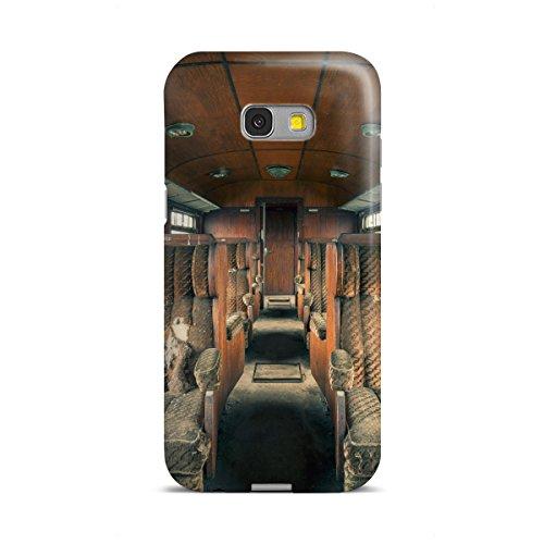 artboxONE Samsung Galaxy A5 (2017) Premium-Case Handyhülle Holzklasse von Michael Schwan