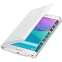 Galaxy Note Edge SM-N915FY Flip Wallet White Bianco Originale Samsung EF-WN915B