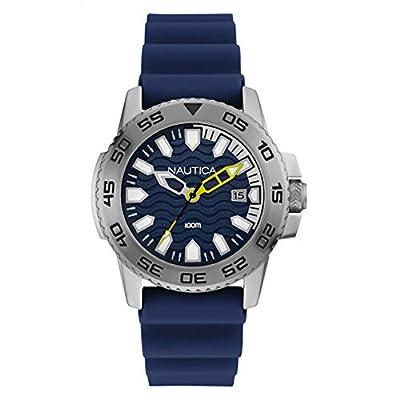 Nautica NSR 106NAI12527G Reloj de Pulsera Hombre de Nautica