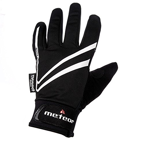 meteor® WX200 Prämie Fahrradhandschuhe , VOLL WINTERHANDSCHUHE für Radsport MTB Road Race Downhill Wandern und andere Sports unisex Touchscreen Handschuhe mit 3M™ Thinsulate™-Technologie (XL) (Gummi Alpinestars Hat)