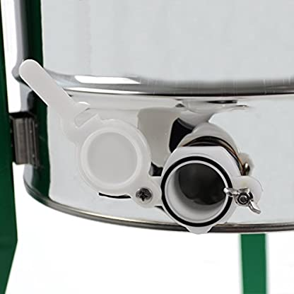 Easibee 6 frame Stainless Steel Radial Honey Extractor 3