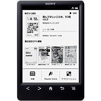 """Sony PRS-T3S - Lector de eBooks de 6"""" (ePub, FB2, PDF, TXT, Bluetooth, pantalla táctil), negro"""