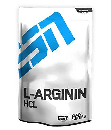 #ESN L-Arginin HCL, Raw Series, 1er Pack (1 x 500g Beutel)#
