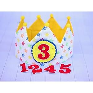 Kindergeburtstagskrone, erstes Geburtstagsgeschenk, Kinderpartydekoration