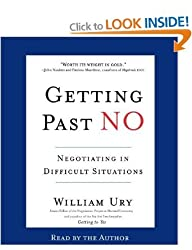 (GETTING PAST NO: NEGOTIATING IN DIFFICULT SITUATIONS - GREENLIGHT ) BY URY, WILLIAM L{AUTHOR}Compact Disc