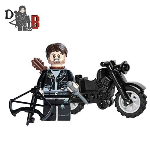 Demonhunter Bricks eigener The Walking Dead Daryl Dixon mit Eigener hergestellt Armbrust