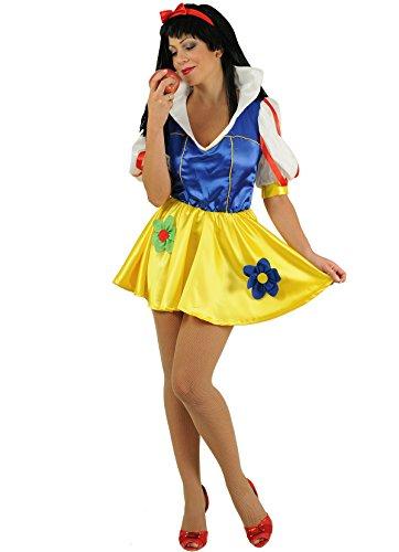 Stamco - Märchenkostüm Schneewittchen Kostüm Damenkostüm