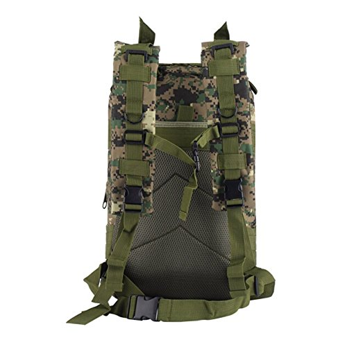 3P Sport Trekkingrucksack Wanderrucksack Wasserdicht 30L Camping Rucksack Jungle Farbe