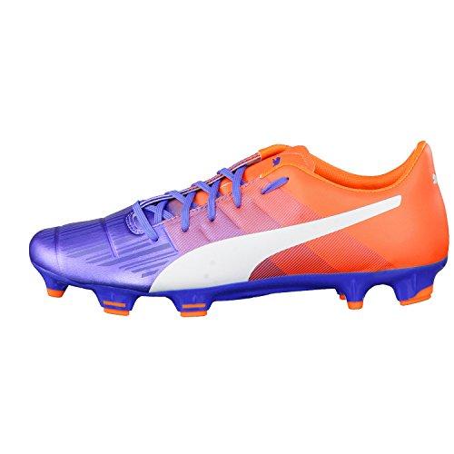Futebol Laranja De Sapatos 3 Fg Puma Azul 3 Evopower Homens xCwqxgT0
