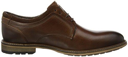 Steve Madden Footwear Herren gambol Low Derby Derbys Braun (Cognac)