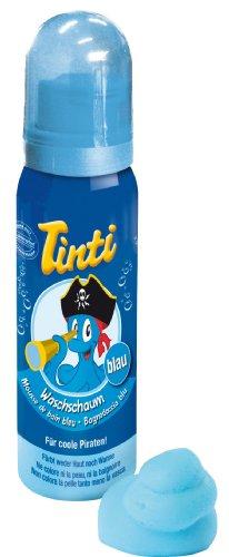 Tinti–Espuma de baño azul 75ml