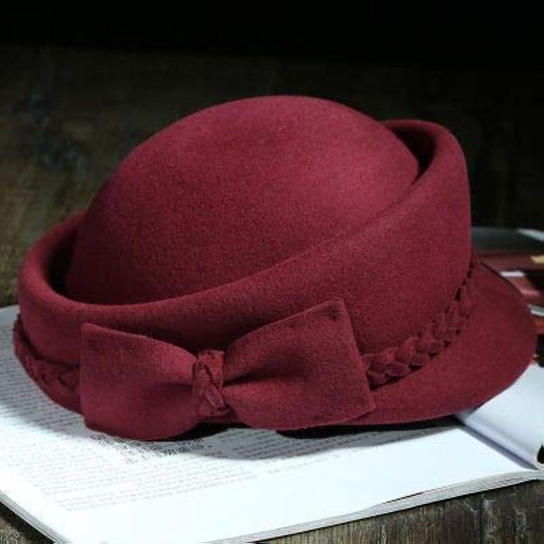 Dvfgsxxht Cappelli Invernali Temperament Wild Bow Beret Femminile Autunno  Inverno Parent Cappello di Lana Moda Britannico affaa02074c2