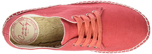 Coolway Jafari, Chaussures à lacets femme rouge (COR)