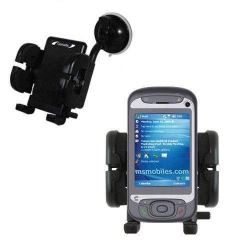 Cradle-Windschutzscheibenhalterung für das HTC Hermes - Flexibler Schwanenhalshalter mit Saugbefestigung für KFZ / Auto. Lebenslange Garantie